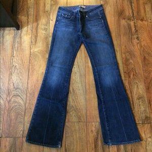 """Paige """"pico"""" low rise boot cut jeans"""